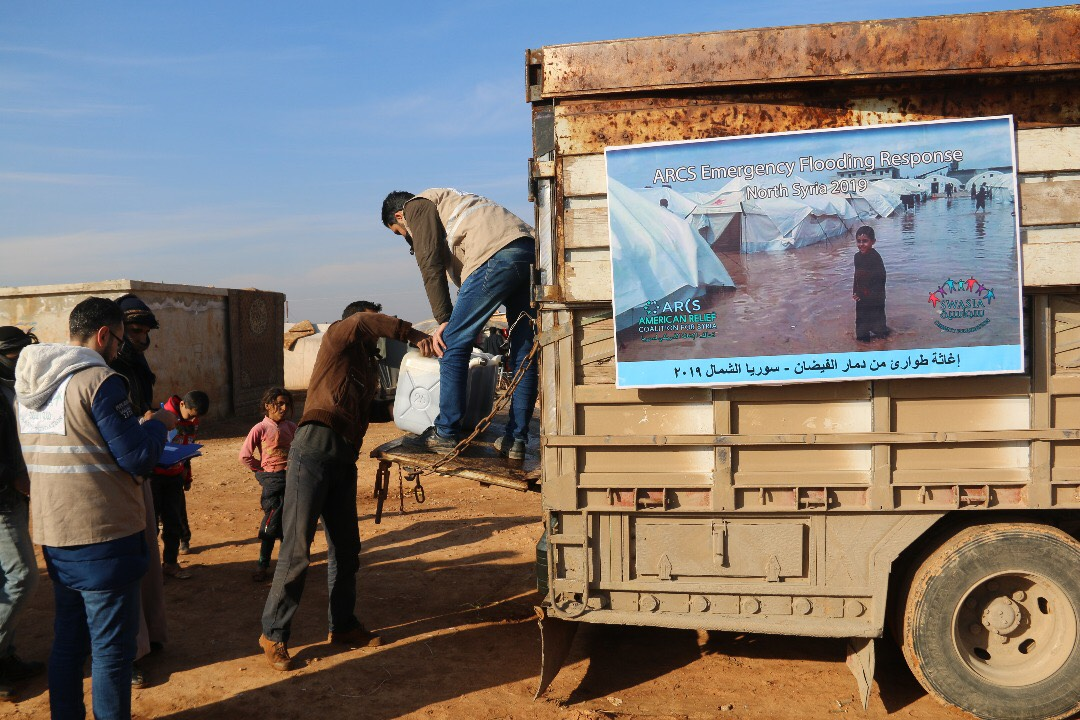 ARCS-Swasia aid delivery in N Syria